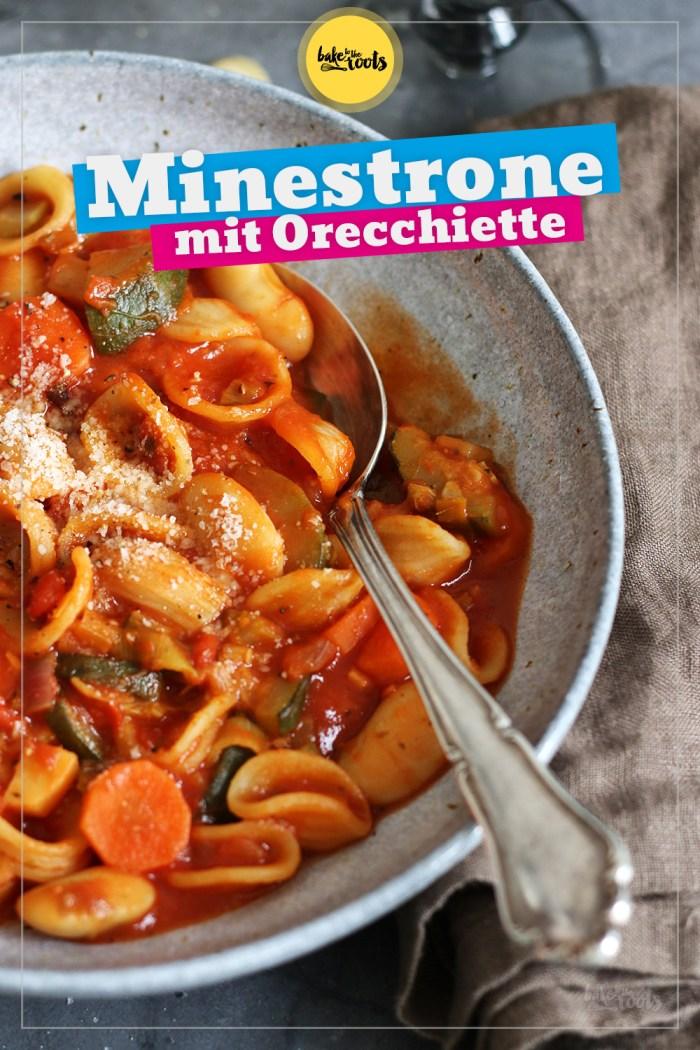 Minestrone mit Orecchiette | Bake to the roots