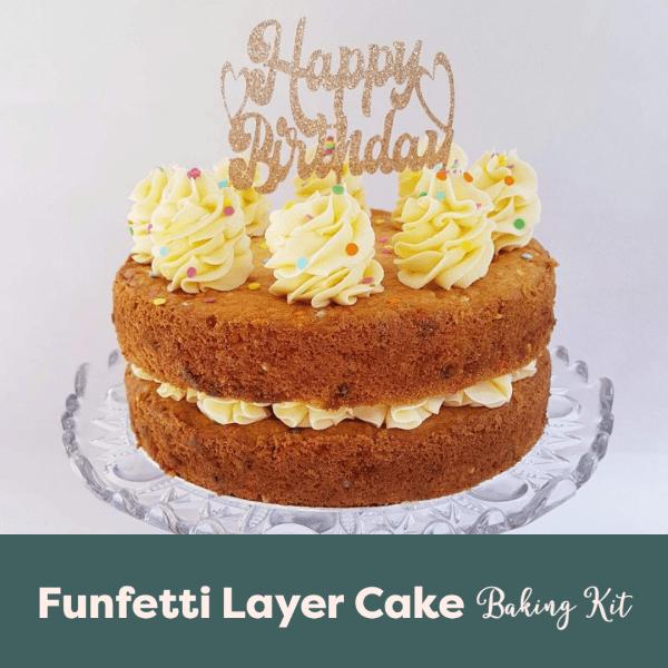 Funfetti Vanilla Birthday Cake