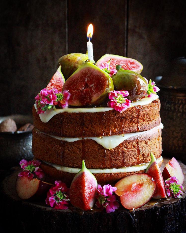 Maple Syrup Cake Bake With Shivesh