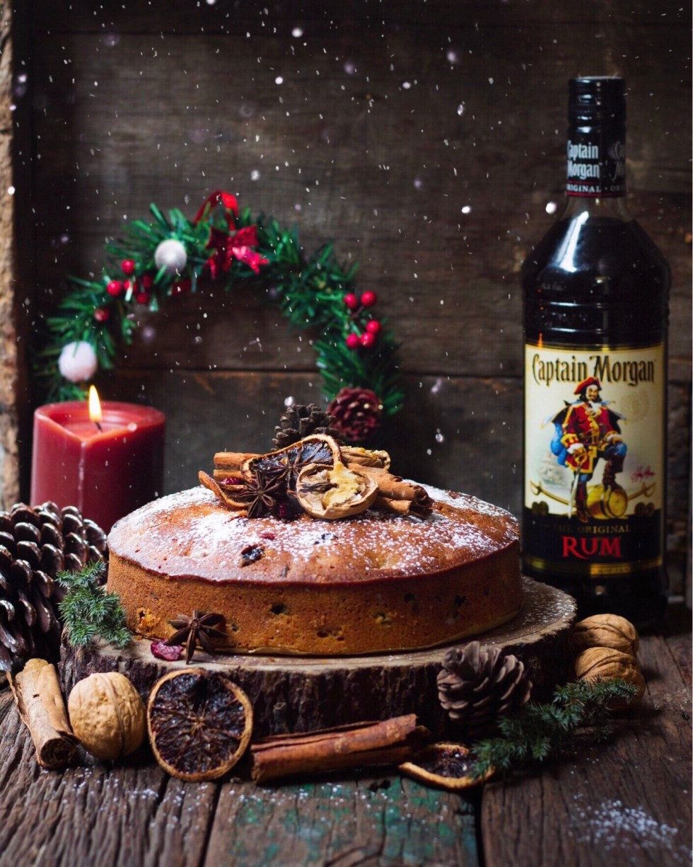 Image result for christmas tree rum cake