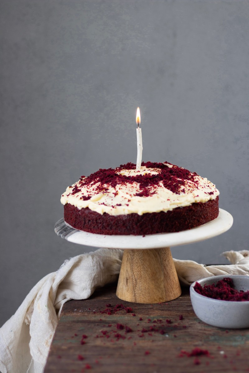 Eggless Red Velvet Cake Easy Recipe