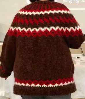 Traditional Cardi - 3 Colors and Steeked