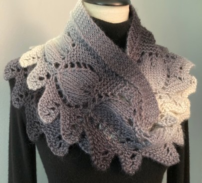 Frosted Leaves Cowl