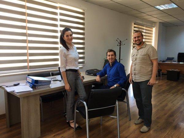 Antalya Teknokent proje hazırlama ekibi işbaşında