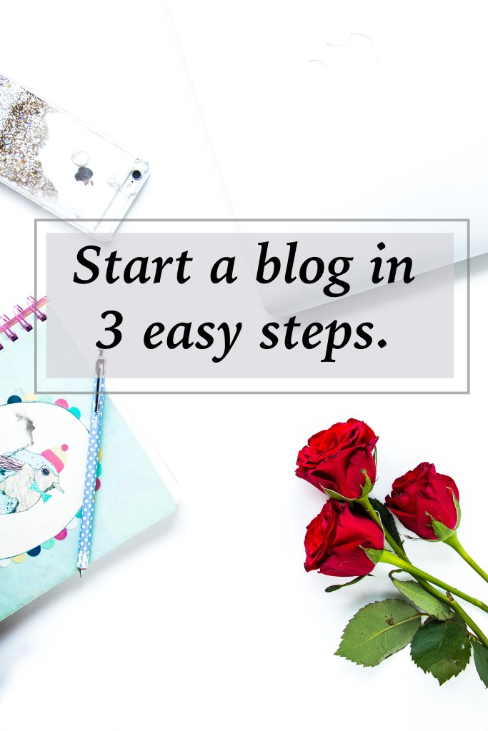 Easy steps on how to start a blog.
