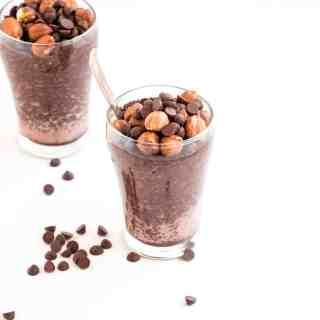 Chocolate Hazelnut Chia Pudding