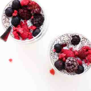 Simple Berry Chia Pudding