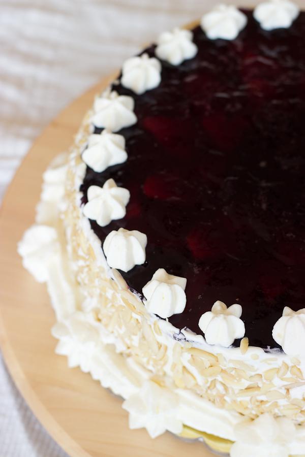 Berry Birthday Cake Baking After Dark