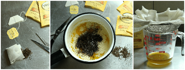 Infusing Butter with Tea (for Baked Goods)