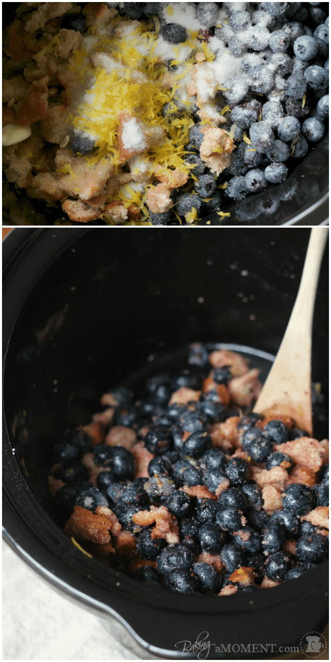 Blueberry Brown Betty
