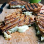 Brie, Apple, Bacon Grilled Cheese by Kat of I Want Crazy: