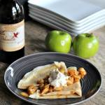 Apple Cinnamon Crepes with Maple Mascarpone Topping by Krista at Joyful Healthy Eats