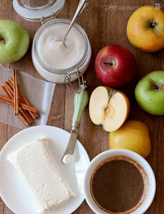 Browned Butter Cream Cheese Jewish Apple Cake by Baking a Moment