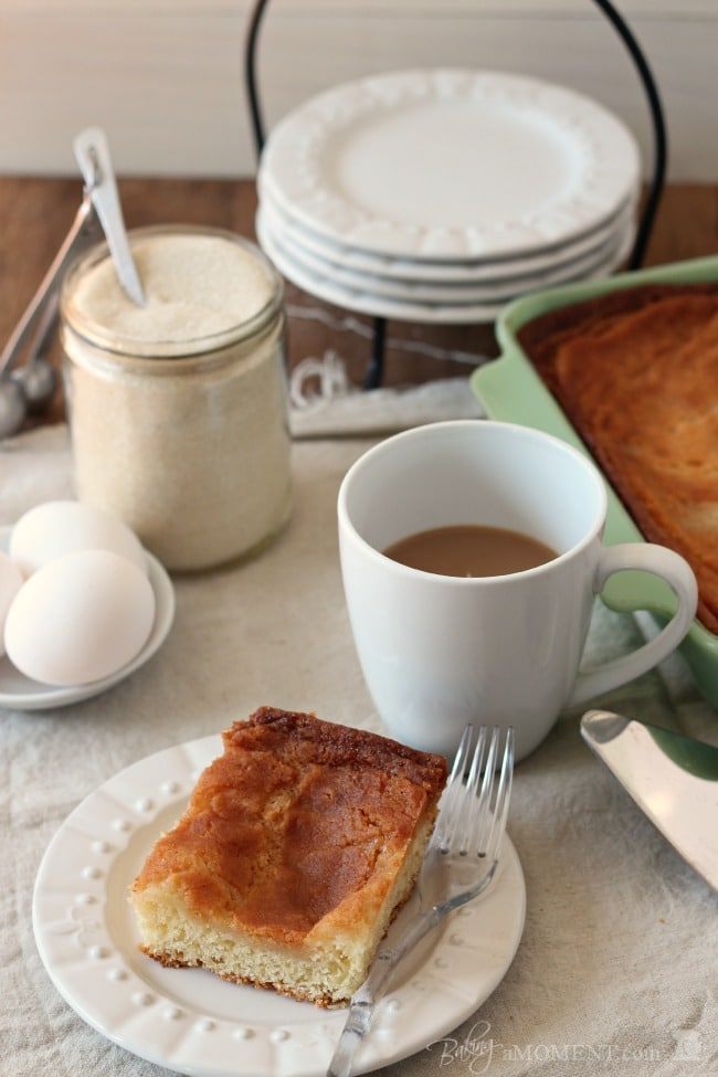 St. Louis Gooey Butter Cake | Baking a Moment