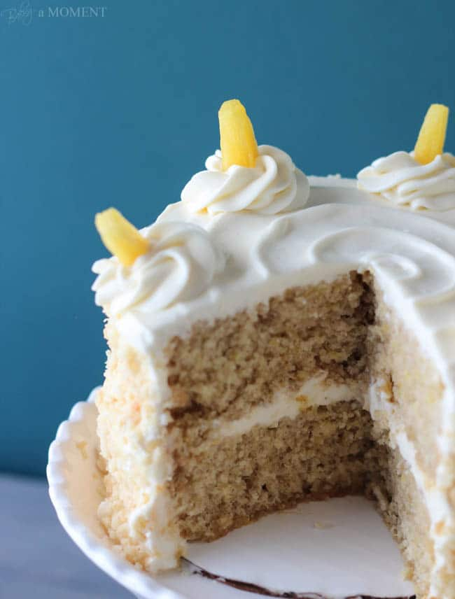 Hummingbird Cake | Baking a Moment