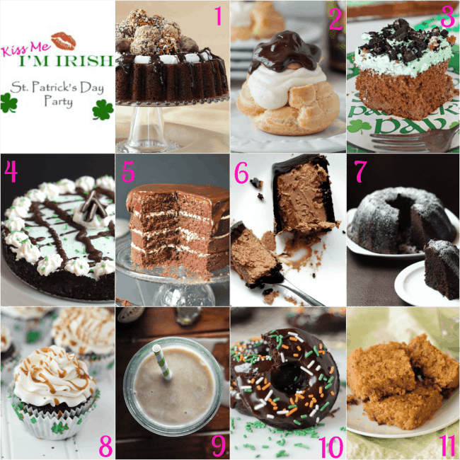 #kissmeimirish 11 Desserts for St. Patty's Day