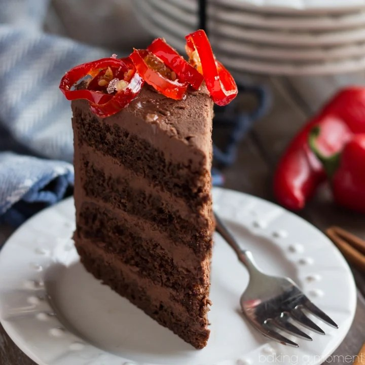 Chocolate Cake with Mexican Chocolate Frosting - Baking A ...