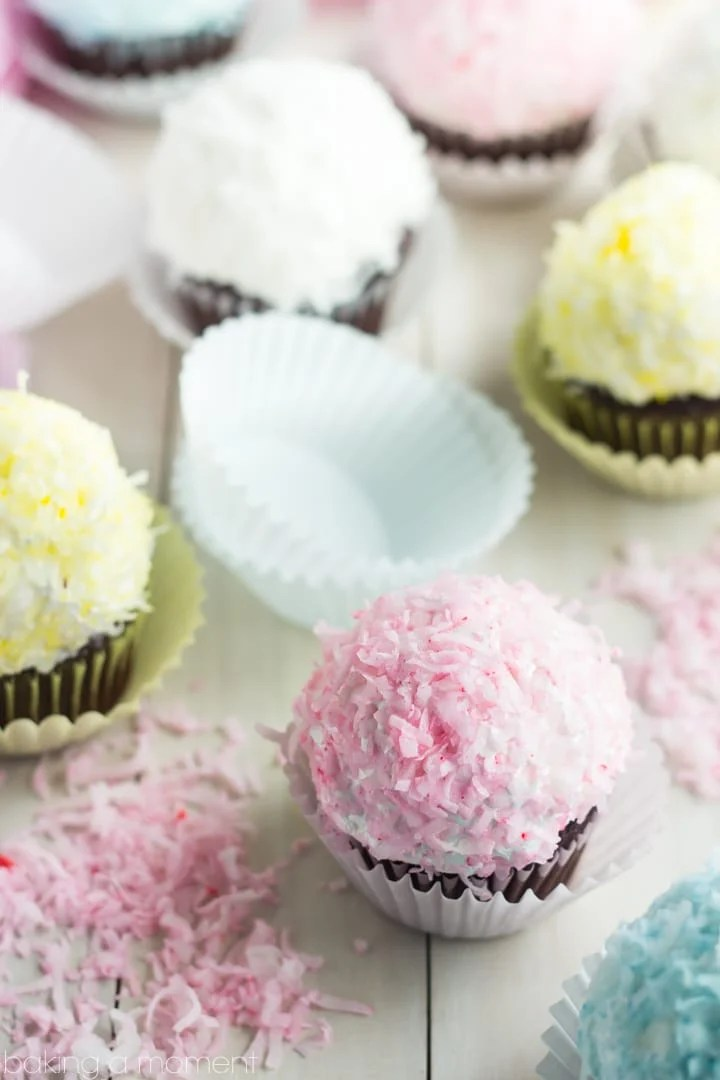 ... recipe save snowball cupcakes moist chocolate cupcakes are topped