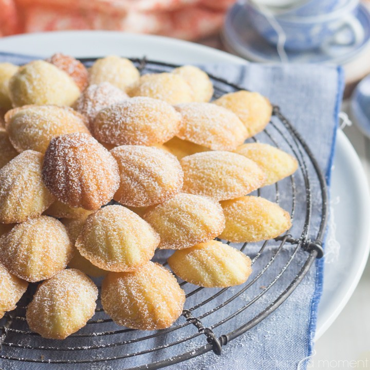 Orange Blossom Madeleines- these were easy to make and like nothing I've ever tasted before!  Perfect for a shower or Spring brunch.