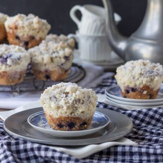 Best Ever Blueberry Muffins | Baking a Moment