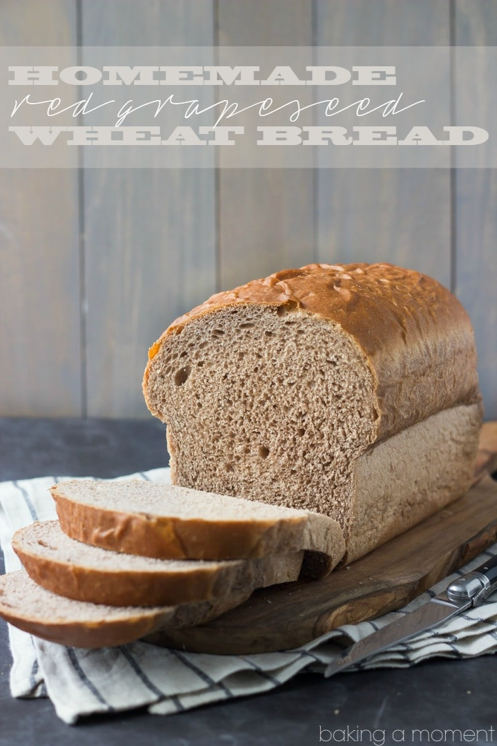 This is our go-to bread now: my whole family LOVES this Red Grapeseed Wheat Bread recipe!  #sponsored  #whitelily
