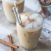 Need a pick-me-up? Try this Coconut Horchata Iced Coffee recipe! It's cold and creamy, and spiked with cinnamon, almond, and rich coconut flavor. Such a delicious summer treat, you won't believe it's dairy-free!