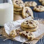 Soft Chocolate Chip Cookies: so buttery and delicious, they practically melt in your mouth!