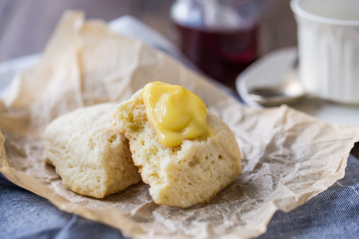 Simple, buttery, and moist scones that are so quick to make.