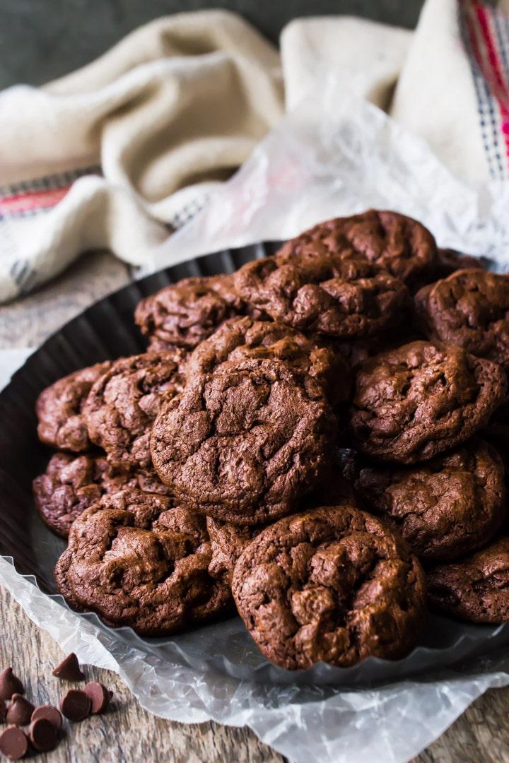 Fudgy brownie cookie recipe