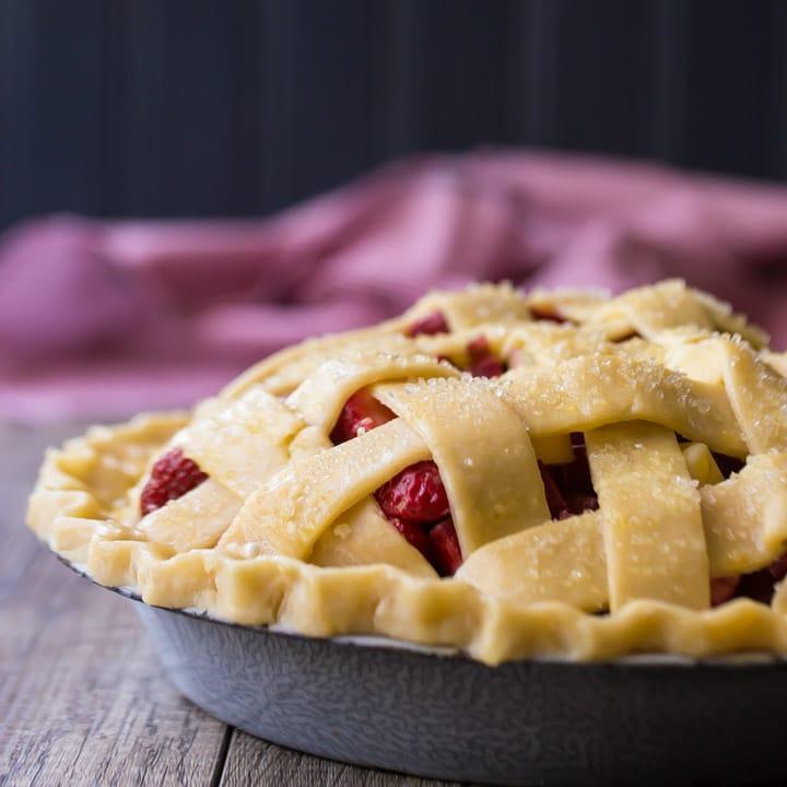 How to Make a Lattice Pie Crust.
