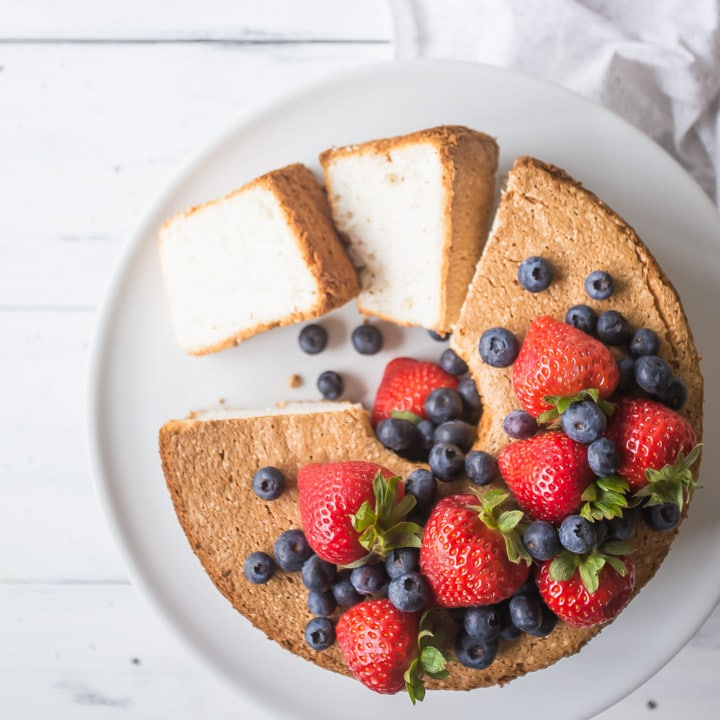 Best Angel Food Cake Recipe Homemade From Scratch