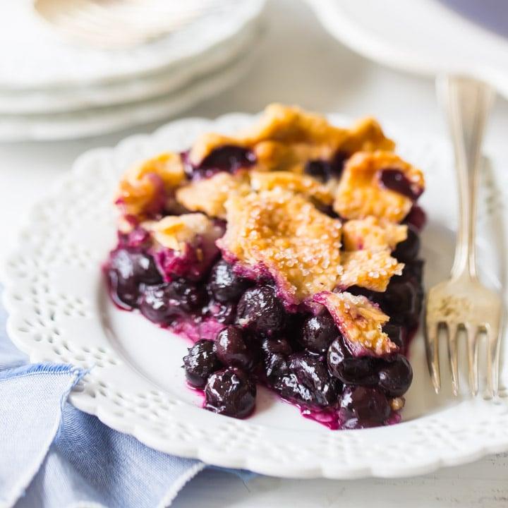 Best Blueberry Pie Recipe