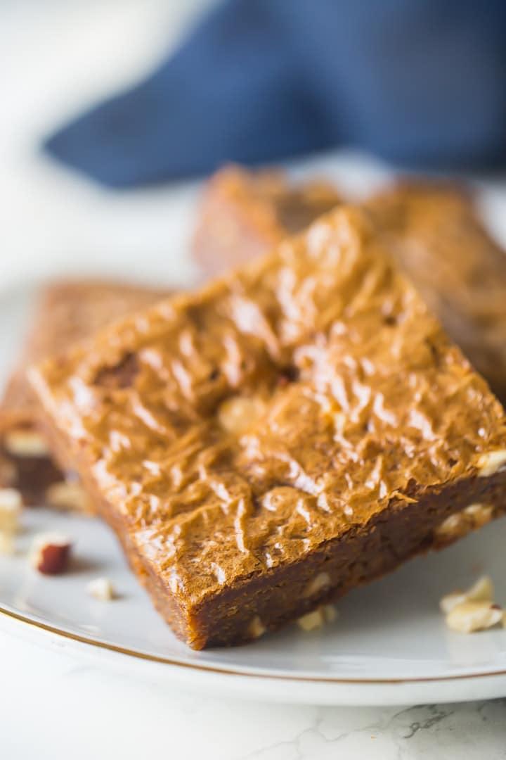 Brown Sugar Blondies Recipe