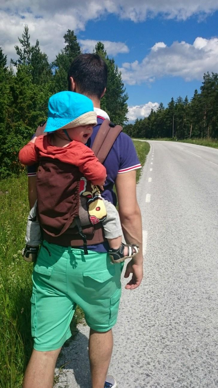 Fysioterapeutens råd om bärande-ergonomi