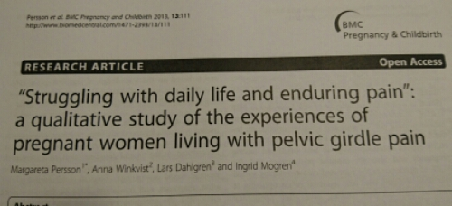 """""""Struggling with daily life and enduring pain"""""""