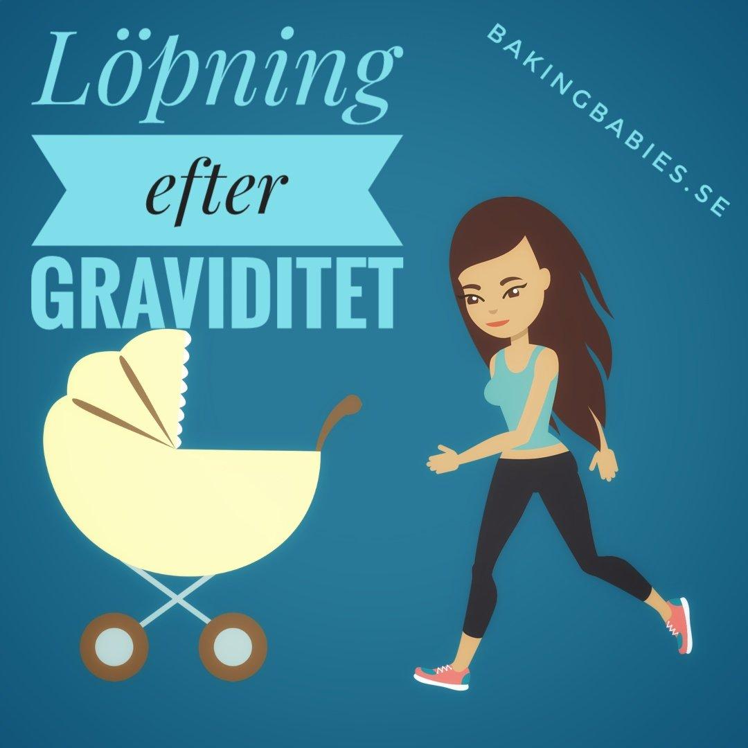 när kan man börja jogga efter förlossning