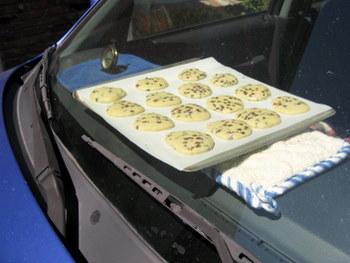 car cookies, halfway done