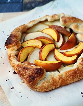 Easy Peach Galette