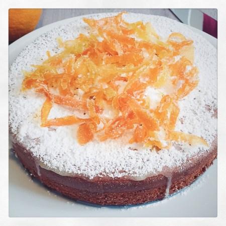 Orangen-Zimt-Kuchen