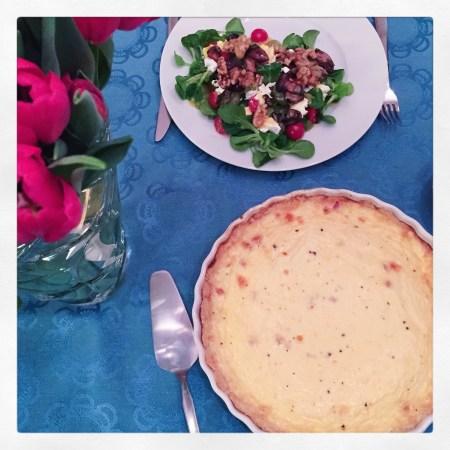 Quiche Lorraine - Lothringer Speckkuchen