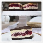 Schwarzwald trifft New York: Schwarzwälder Cheesecake