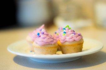 Chateau Jiahu Grapefruit Cupcakes