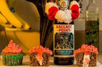 Victory at Sea Peppermint Cupcakes
