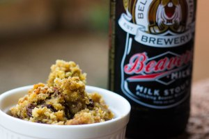 Milk Stout Bead Pudding
