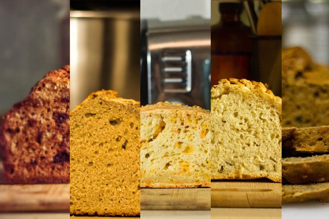 Beer Bread Collage