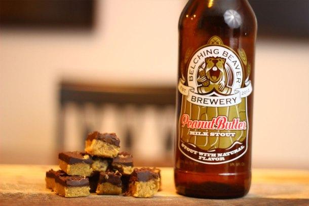 belching beaver peanut butter bars