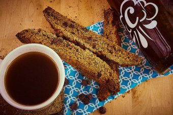 Winter Warmer Spent Grain Biscotti
