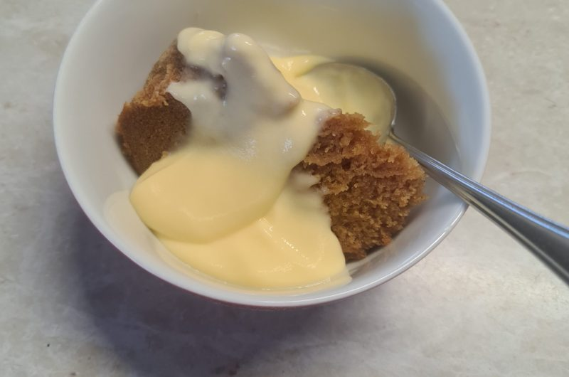 Donna's mixed spice and ginger Steam Pudding