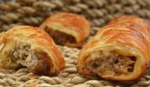 sausage rolls: the simplest of foodie pleasures!