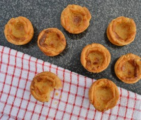 lemongrass custard tarts